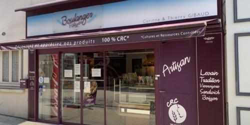 Boulangerie rue des Halles