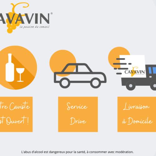 La Cavavin: ouvert, à emporter et en livraison