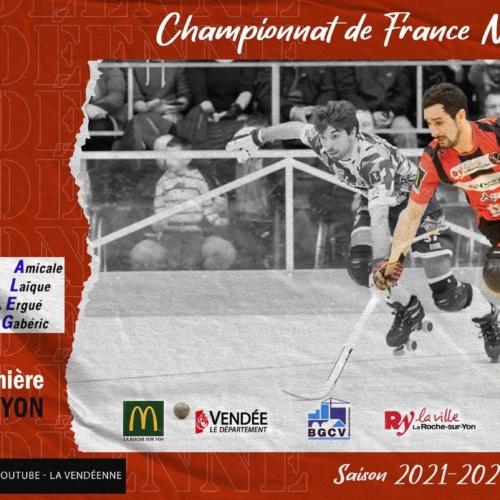 Rink Hockey: La Vendéenne – Ergué Gabéric