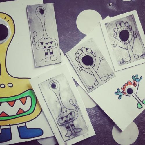 Atelier Gravure sur Tetrapak
