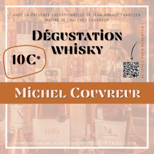 Dégustation des WHISKIES de Michel Couvreur!