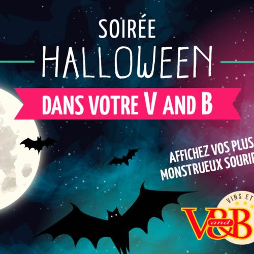 Soirée Halloween – V&B Sud