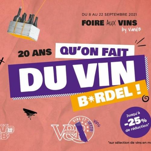 Foire aux vins au V&B la Roche sud