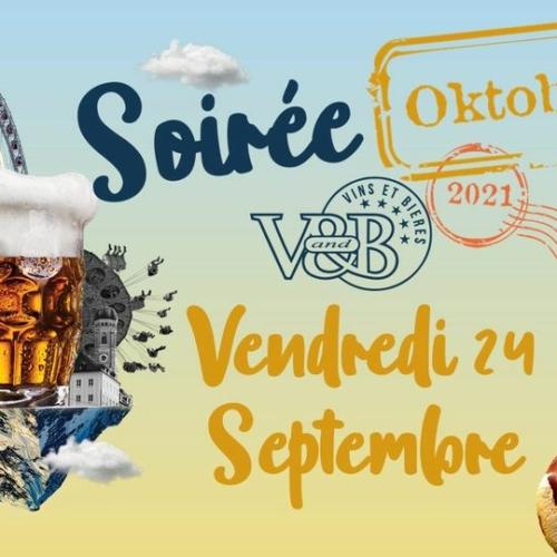 Soirée Oktoberfest au V&b La Roche Nord