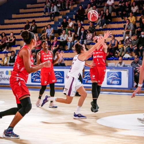 Basket-ball (LFB) : RVBC – Charnay