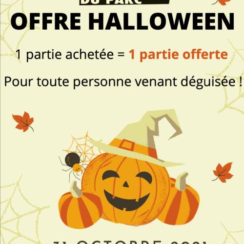 Offre Halloween – Bowling du Parc